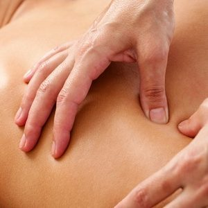 Recieveing Deep Tissue Massage Asheville